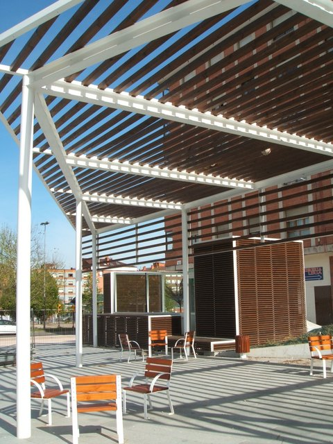 Plaza 3 de Abril, Gijón (Dicaminos)