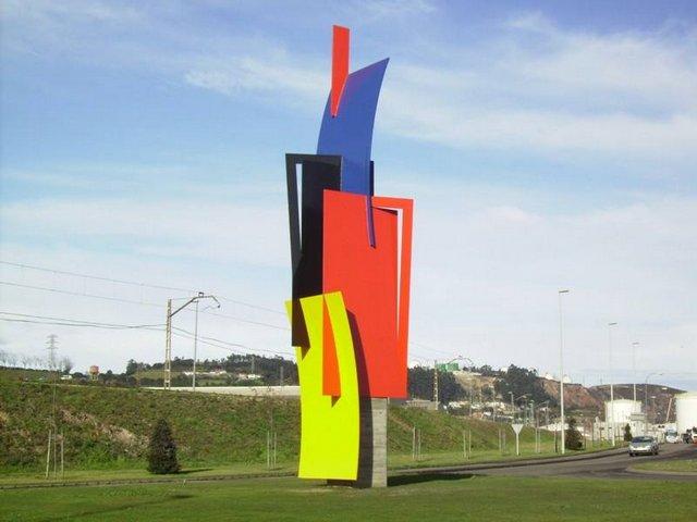 Escultura en El Musel (Pablo Maojo)