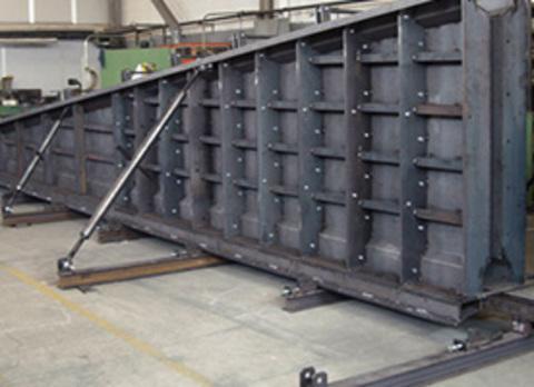 Metalicas de Mareo - Encofrados metálicos - Metalicas De Mareo, S.L.